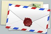 事務局へメール
